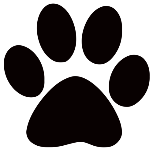 Dog paws website logo